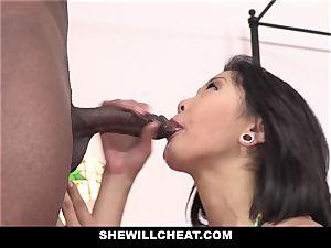 SheWillCheat - asian wife romps bbc stud