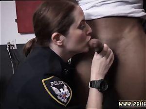 fake hospital milf moist vid takes hold of cop fuckin' a deadbeat father.